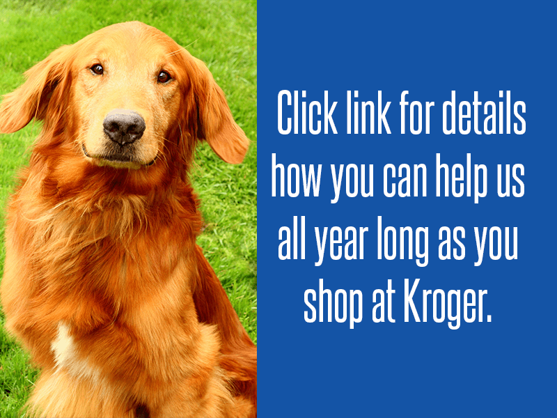 Kroger Community Club Rewards helps Golden Retriever Rescue Resource every time you shop.